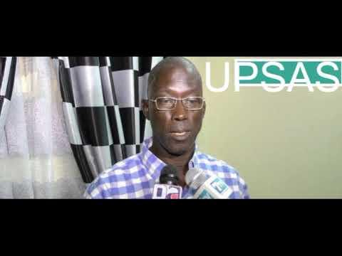 UPSAS en Entretien avec Amadou Diao 2ème Vice-Président de la FEDERATION SÉNÉGALAISE DE L'ATHLETISME