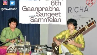 Sweekar Katti(Sitar) & Satyajit Talwalkar(Tabla) |