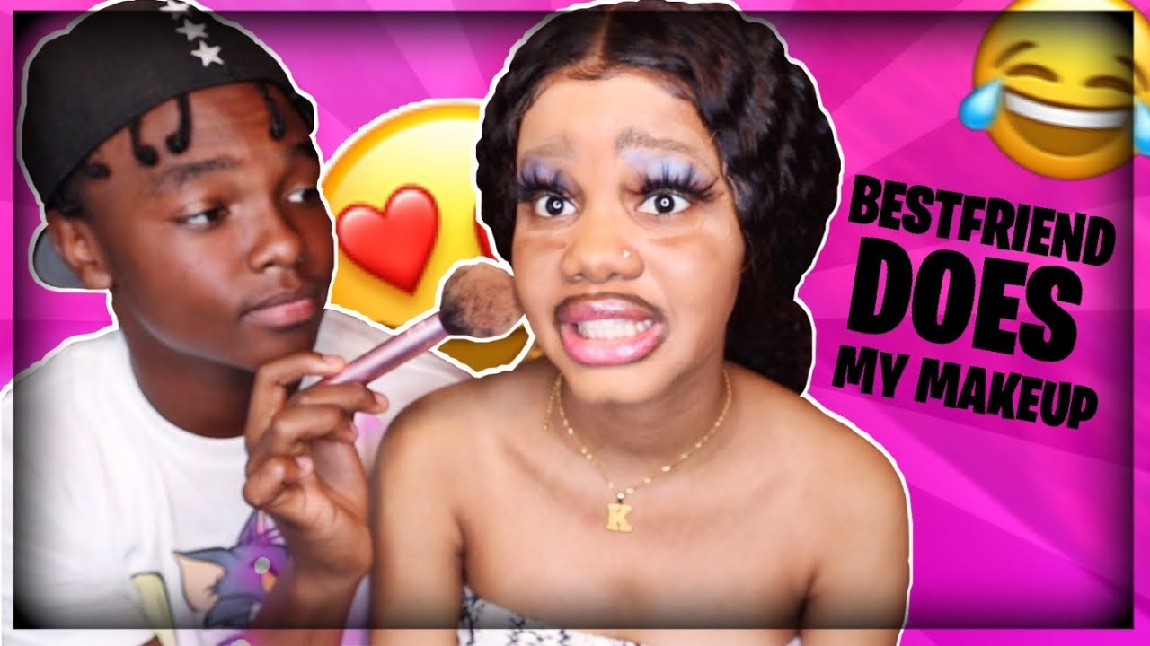 I LET MY BESTFRIEND DO MY MAKEUP AND THIS HAPPENED...| ft. Jah Playboy