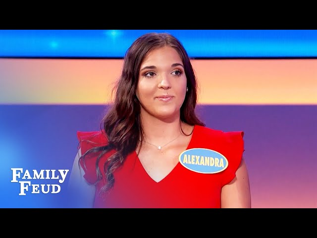 Ladies, before you whack a man with your purse put this inside it! | Family Feud