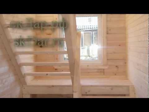 видео: Дом из бруса от компании Дар