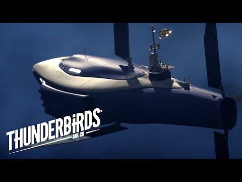 Scott And The Explorers Crash Onto The Comet | Thunderbirds Are Go Clip