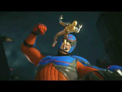 Injustice 2  Atom gameplay trailer (DLC Fighter Pack 3)