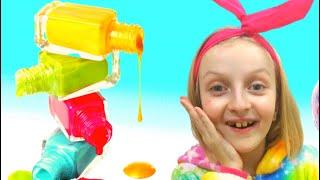 Pretend play with color nail polish by Tawaki kids