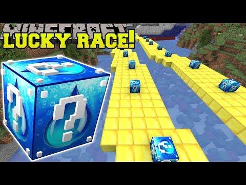 minecraft:-crazy-water-lucky-block-race---lucky-block-mod---modded-mini-game
