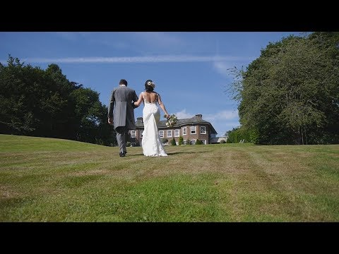 Delamere Manor wedding video - Lauren and Chris