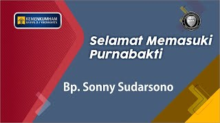 Sebongkah Legacy Bernama Sonny Sudarsono