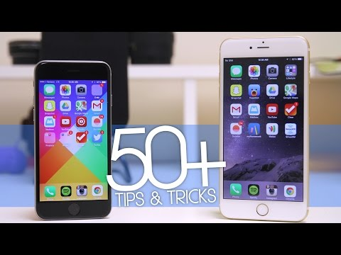 50+ Tips & Tricks for the iPhone 6 & iPhone 6 Plus!