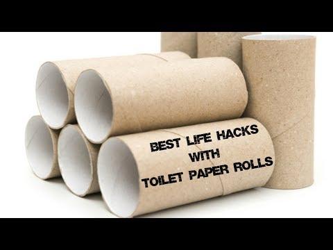Best life hacks with toilet paper rolls | Maison Zizou