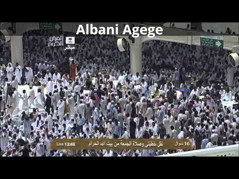 Friday Sermon from the grand mosque of Makkah by Dr. Abdurrahman Sudais 16 /10 /1434 A.h 23/08/2013