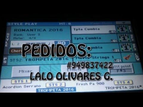RITMOS DE CUMBIAS - KORG PA 600 - Lalo Olivares (latinogriego)