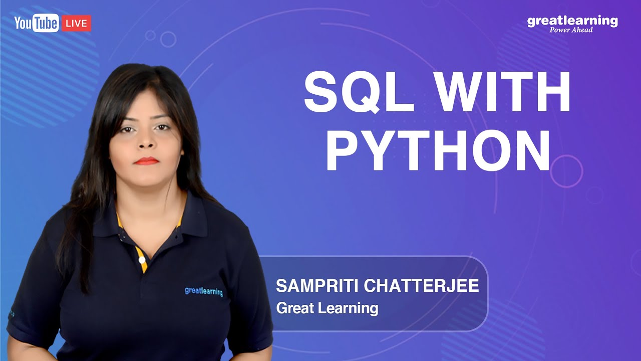 SQL with Python | How to Connect Python with SQL Database | Great Learning