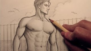 How to Draw Chest Muscles