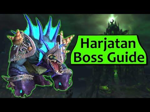 Harjatan in Tomb of Sargeras - Heroic/Normal Harjatan ToS Boss Guide