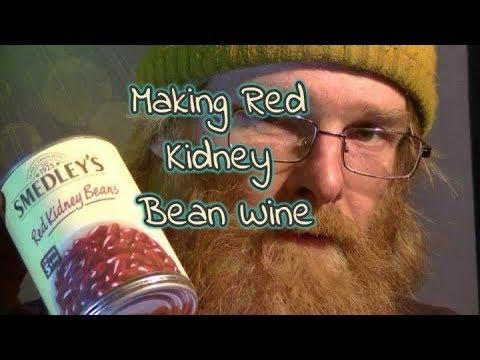 Making Red Kidney Bean Wine