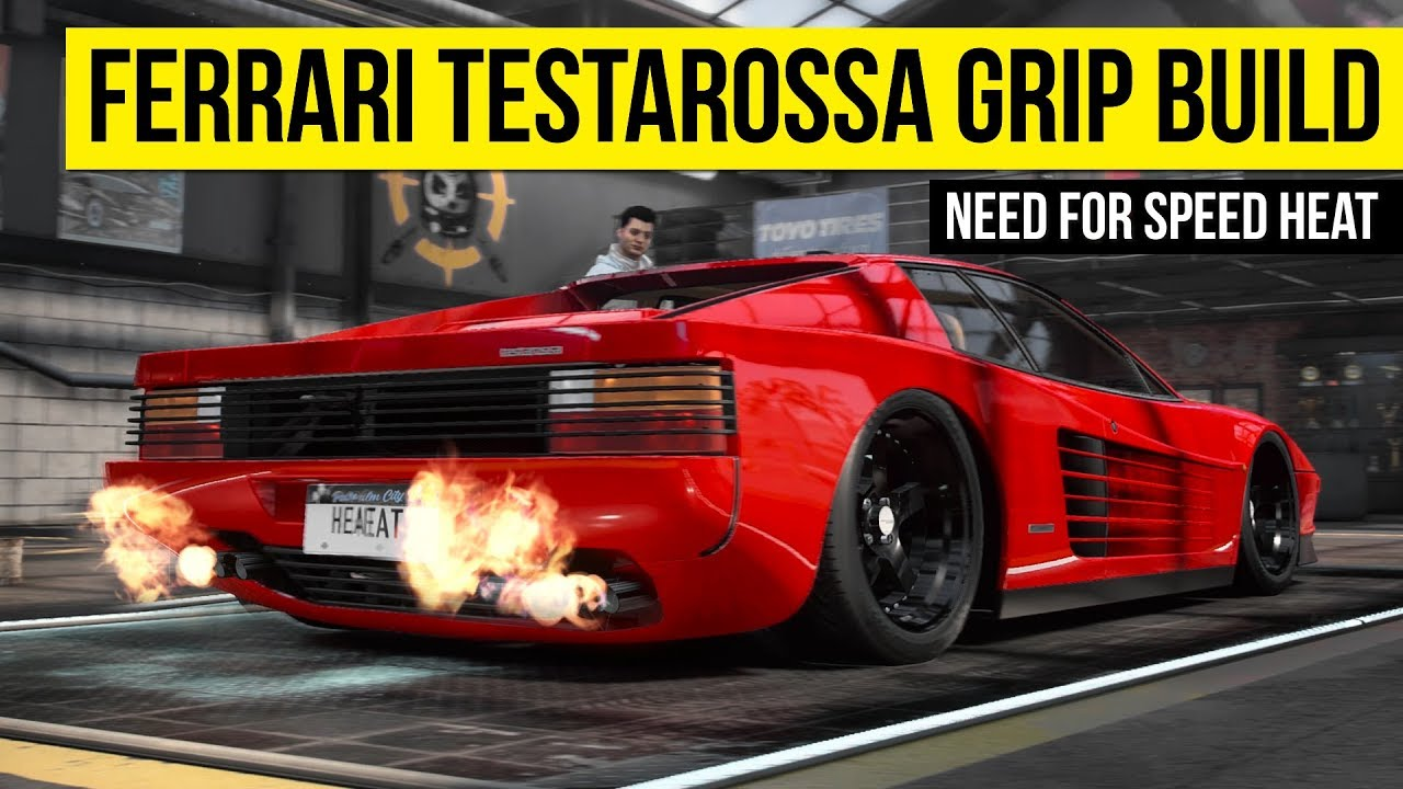 Ferrari Testarossa Grip Build Need For Speed Heat Youtube