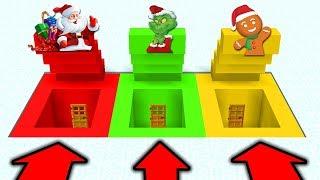 จะเกิดอะไรขึ้น!? ถ้า 3 ตัวคริสต์มาส มีบ้าน! ในมายคราฟ! (Minecraft ตัวคริสต์มาส)