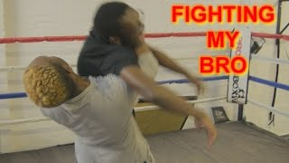 FIGHTING MY BRO!!