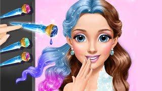 Princess Gloria Ice Salon Frozen Beauty Story - Play Makeup & Dress Up Fun Color Girls Games