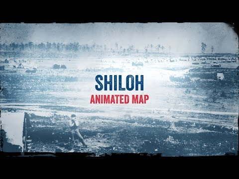 Shiloh: Animated Battle Map