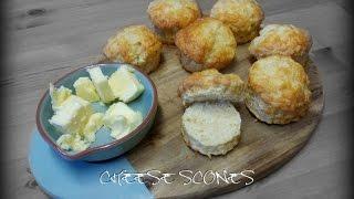 Easy cheese scones recipe