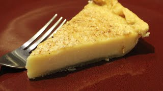 PIE/ HOME MADE CUSTARD PIE RECIPE / CHERYLS HOME COOKING