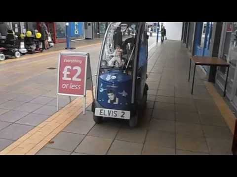 Elvis Greatest Fan Winsford Shopping Centre Cheshire England UK