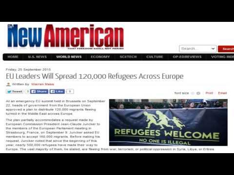 EU Leaders Will Spread 120,000 Refugees Across Europe