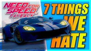 7 Things I Hate about Need For Speed Payback