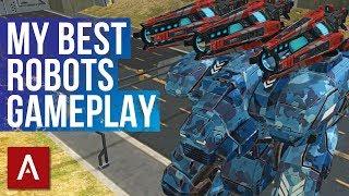 War Robots My Best Robots Gameplay | 2hrs of Champion League Gameplay