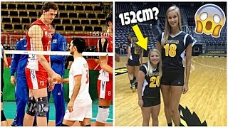 The SHORTEST Volleyball Players 2018 (HD)
