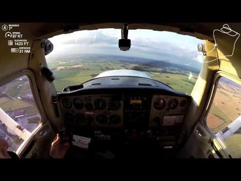 My first flight as a private pilot | Cessna 152 | SE-IFZ