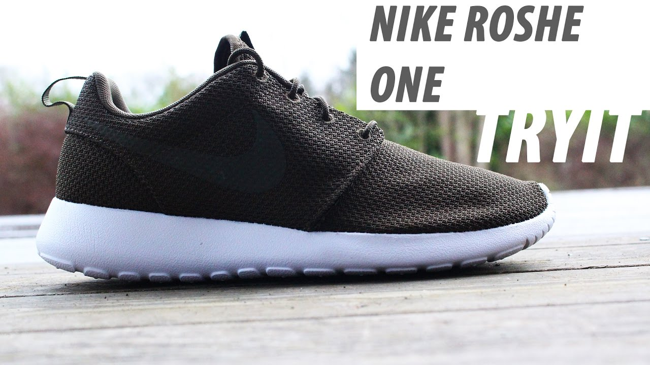 49f377e98562 ... discount code for nike roshe one olive green unboxing tyit b9efe 28f50