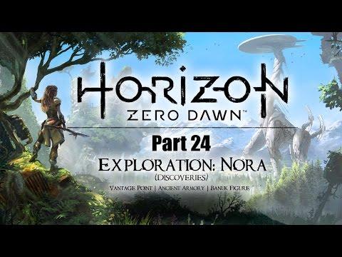 Horizon Zero Dawn: Part 24 - Vantage Point   Banuk Figure (no commentary) PS4
