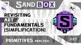 (Человек Упрощение) Сессия 46 - Creative Sandbox [RUS/eng] (Пересмотр основ рисования)