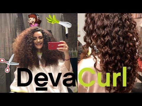 My first DevaCut experience at DevaChan Salon in NYC! | Farrahdreamz