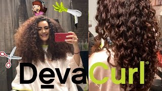 My first DevaCut experience at DevaChan Salon in NYC! | Farrahdreamz