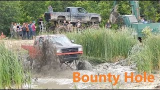 Mud Bounty Hole at Moms Mudbog Impossible BOUNTY Hole