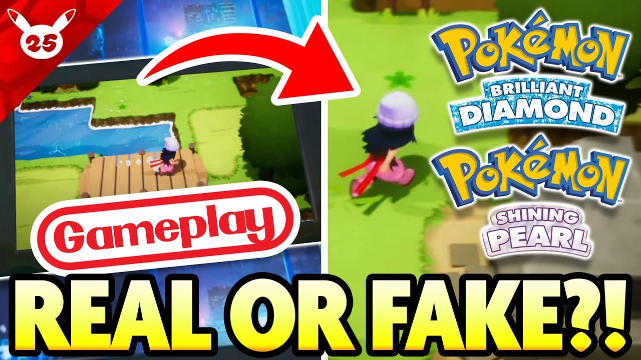 Is this NEW GAMEPLAY LEAK REAL?! Brilliant Diamond/Shining Pearl Leak Breakdown!