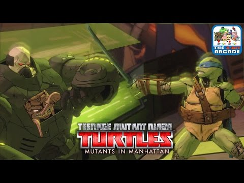 Teenage Mutant Ninja Turtles: Mutants In Manhattan - Stage 7: General Krang (Xbox One Gameplay)