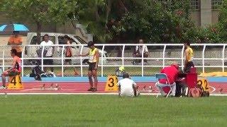 105年全大運 一般男子組田徑200公尺決賽 泓霖
