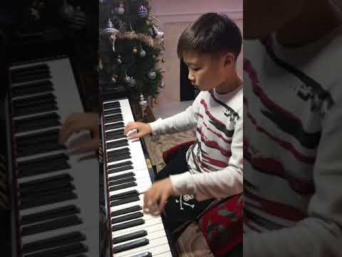 Kevin Zhu, Jan.14.2018 L.V. Beethoven: 6 Variations in G from opera La Molinara