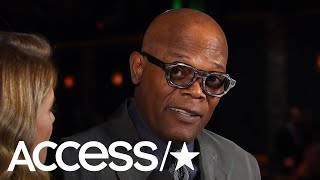 Samuel L. Jackson Shares The Lines Fans Always Demand | Access