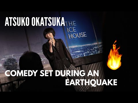 The Love Doctors - California Earthquake Hits During Comedian's Set!