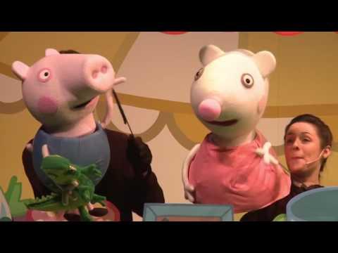 Vidéo Peppa Pig au Casino de Paris