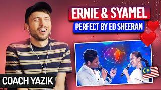 Download YAZIK reacts to PERFECT - Ernie Zakri & Syamel