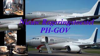 Nieuwe regeringstoestel PH-GOV OP Vliegbasis Woensdrecht 2019