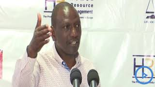 DP Ruto insists on the construction of Arror and Kimwarer Dams