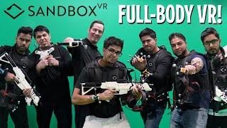 Full-Body Motion Capture VR - Fighting & Horror Game! Sandbox VR - Oak Brook, Chicago IL -