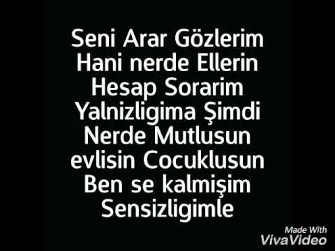 Mehmet Savcı Seni Arar Gözlerim (Sözleriyle)